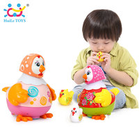HUILE TOYS 6102 Baby Toys Electric Chicken Talking Sing Dancing With Whistle Chick Learning Developmental Toys