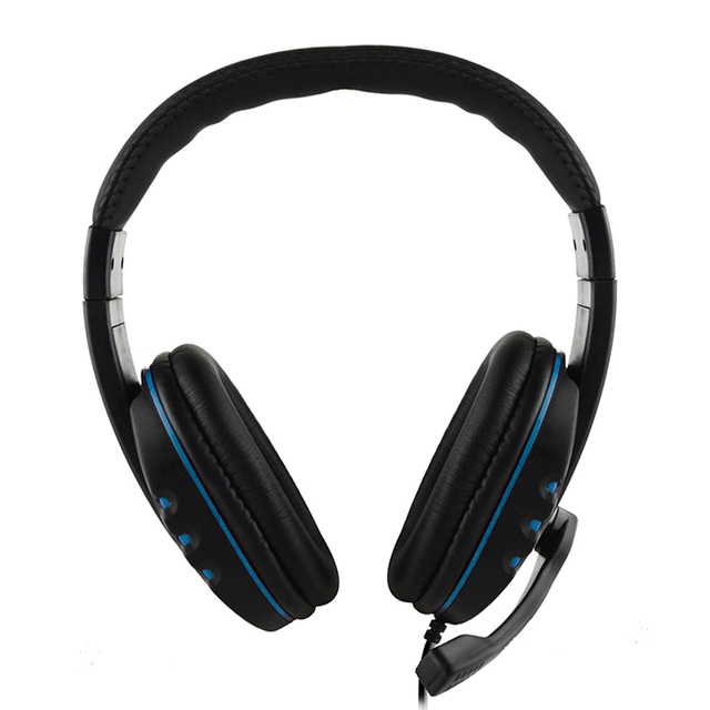 3.5mm Wired Gaming Headphones Noise Canceling Earphone Game Headset with Microphone For PC Laptop PS4 Headset Smart Phone