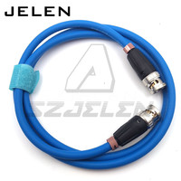 BNC plug to BNC plug, 75 ohm coaxial cable Camera SDI RF coaxial cable , video transmission cable 1M