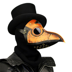 Takerlama винтажные маски Чумного доктора в стиле стимпанк, брикет птиц, маски, готический маскарадный шар, реквизит