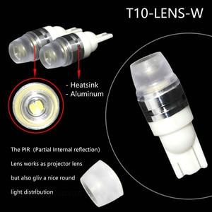 Image 3 - 2 X T10 Led Concave Lens Interieur Gloeilampen Cob Breedte Wedge Side Lampen 6000K Led lampen Voor auto Reading Panel Verlichting