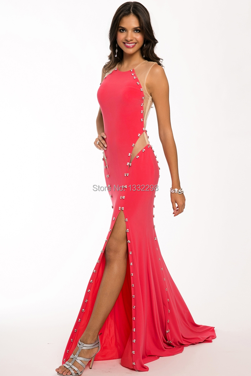 unique red prom dresses