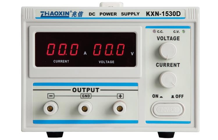 ZHAOXIN KXN-1530D Series High-power Switching DC Power Supply Single output 0-15V 0-30A new digital kxn 1520d high power switching dc power supply 0 15v voltage output 0 20a current output