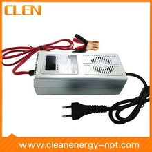 12V 7A Car E-bike Battery Charger Full Auto 7-step Switchable Reverse Pulse Charging Desulfator