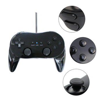 Classic Wired Game Controller Gaming Remote Pro Gamepad Shock controle Joystick For Nintend For Wii