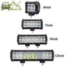 4 «30 Вт 7» 60 Вт 9 «12» 5D Offroad светодиодные панели для 4×4 4WD грузовик УАЗ ATV Лодка пятно Наводнение балки 12 В внедорожник Focos работы Барра светодиодные лампы