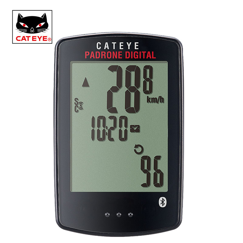 CATEYE Cycling Bike Computer Wireless Bicycle Speedometer Waterproof Speed Cadence Sensor Stopwatch Padrone Digital Computer cateye bicycle computer wired bike speedometer with cadence sensor mtb rode bike stopwatch computer speedometer for bicycle