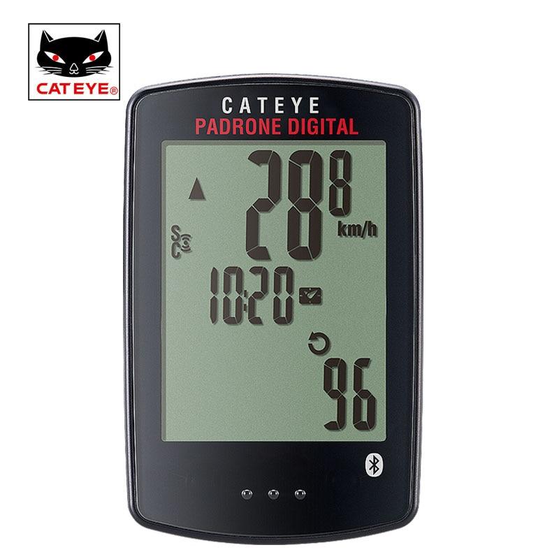 CATEYE サイクリング自転車コンピュータワイヤレス自転車スピードメーター防水速度ケイデンスセンサーストップウォッチ Padrone デジタルコンピュータ  グループ上の スポーツ & エンターテイメント からの 自転車用コンピューター の中 1