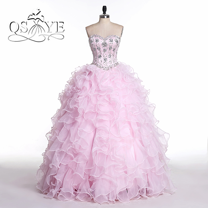 Real Picture Vestidos De 15 Anos Beaded Plus Size Detachable Train 2 Pieces Cheap Masquerade Ball Gowns Quinceanera Dress 2017