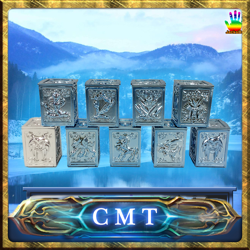 CMT Jacksdo JSD Saint Seiya Myth Cloth Asgard Odin Pandora Boxes Set cmt jacksdo saint seiya soul of god bronze pandora boxes full set