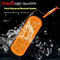HANGRUI Bluetooth Speaker Wireless Loudspeaker Waterproof Bluetooth Speakers Outdoor Portable Sports Speakers Support TF Card