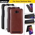 Asus zenfone max zc550kl caso cubierta de cuero del tirón para asus zenfone max cajas del teléfono de la contraportada de shell del teléfono móvil accesorios
