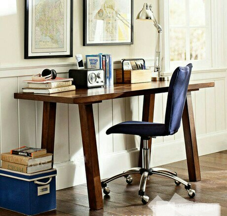 Online buy wholesale pine desks from china pine desks wholesalers - Home office furniture solid wood ...