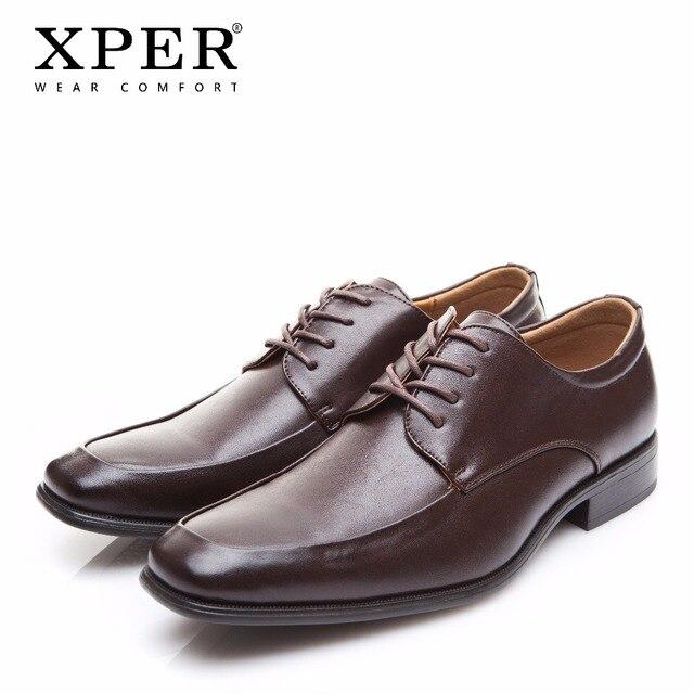 00f366868d3052 XPER marque hommes chaussures habillées porter confortable hommes chaussures  de mariage Gentleman homme chaussures en cuir