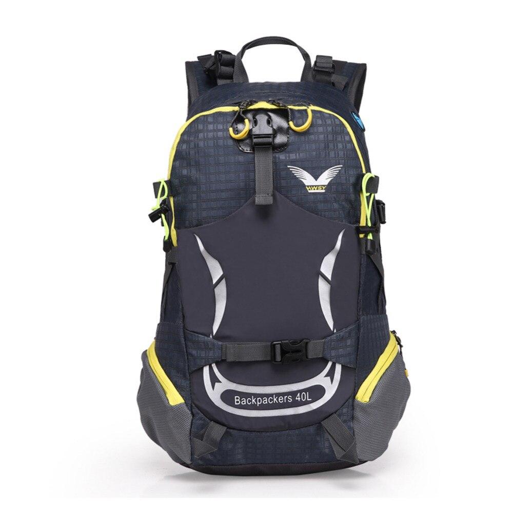 f2f0cb2382a3f 40l ماء تنفس السفر حقيبة السفر التخييم المشي للجنسين تسلق outdoor rucksace  الرياضة حزمة الظهر