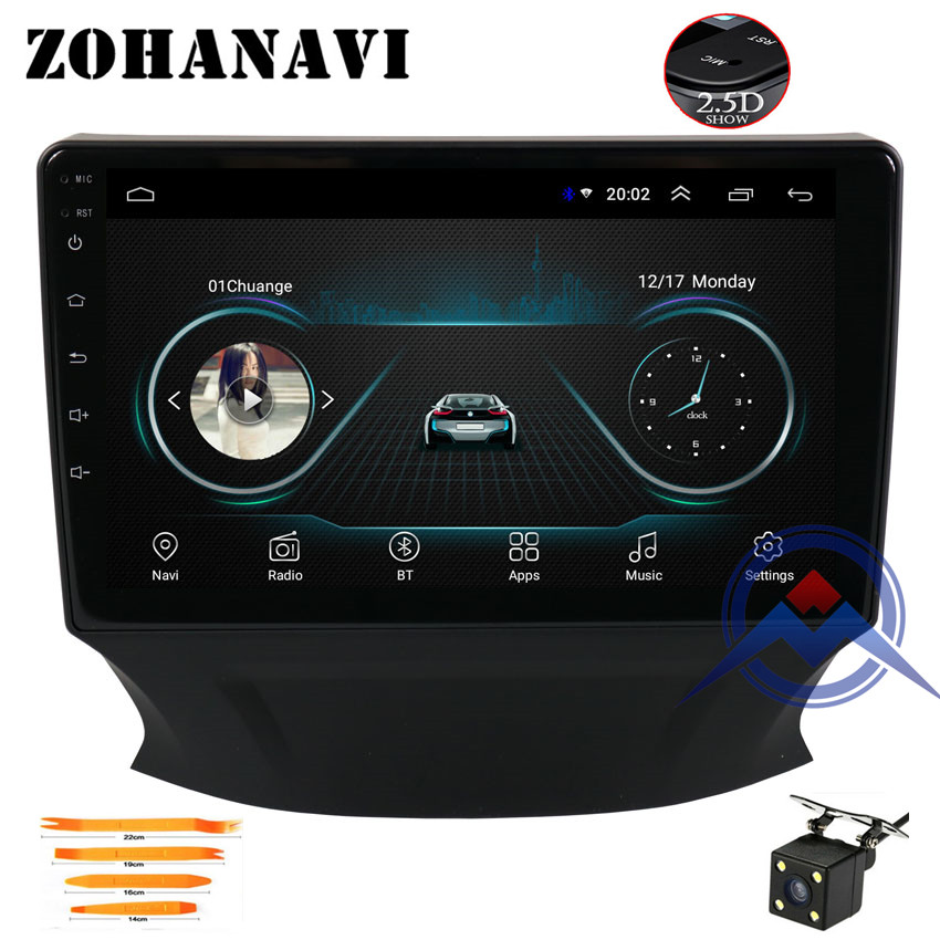 ZOHANAVI 9 inch Android 2 5D Car multimedia player for Changan CS35 2018 2019 Car auto
