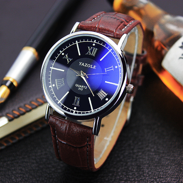 2019 Mens Watches Fashion Leather Mens Analog Quarts Watches Blue Ray Men Wrist Watch Top Brand Luxury Watch bayan kol saati2019 Mens Watches Fashion Leather Mens Analog Quarts Watches Blue Ray Men Wrist Watch Top Brand Luxury Watch bayan kol saati