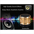 80pcs Mini portable Bluetooth Speakers Metal Wireless Mobile phone Speaker Subwoofer With MP3 Player Support SD Card
