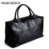 Черный/коричневый 100% подлинные часы натуральная кожа топ из воловьей кожи мужская кожаная сумка бизнес мужская сумка на плечо мешок багажа