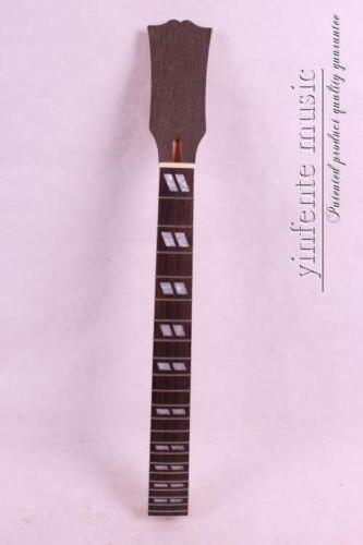Touche adhésive en acajou et palissandre pour guitare électrique non finie