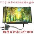 17.3 pulgadas 1920*1080 IPS Pantalla HDMI LCD Tablero de Conductor del Monitor Del Módulo del Panel Del Ordenador Portátil PC Raspberry Pi 3 coche