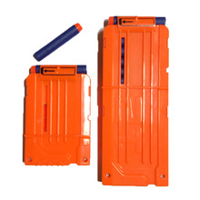 HongChi 6 or 12 Reload Clip Magazines Round Darts Replacement Plastic Toy Gun Soft Bullet For Nerf N-Strike