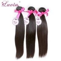 Grade 6A Peruvian Virgin Hair Straight 3Pcs/Lots 100% Rosa Hair Products Peruvian Human Hair Extensions Bundles Free Shipping