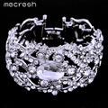 Mecresh Gorgeous Crystal Bracelet for Women Bridal Wedding Accessories SL093
