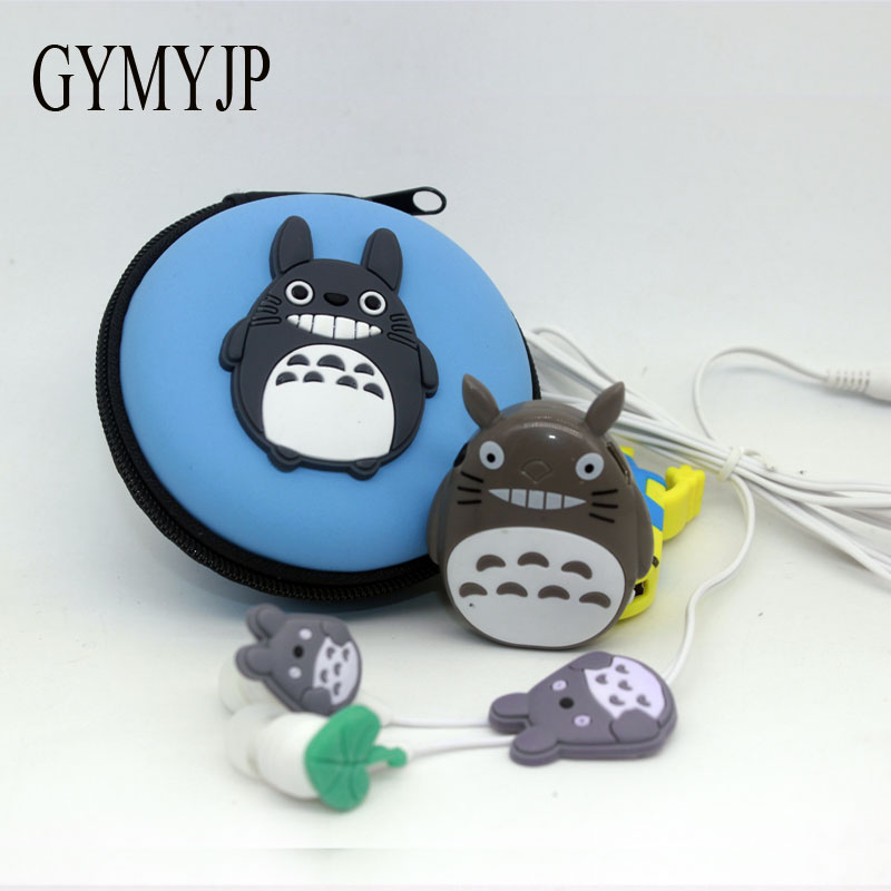 2017 new Totoro   Anime Sports MP3 music player with earphone and bag