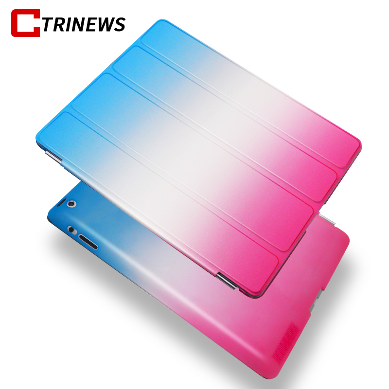 CTRINEWS Luxury Flip Case For Apple ipad 2 3 4 Full Cover Smart Stand PU Leather Case For ipad 4 Tablet Cases Auto Wake Up Sleep 2016 for ipad 2 3 4 smart stand holder case auto sleep wake up flip litchi pu leather cover promotion cheap