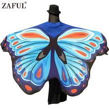 Butterfly Wing Shawl Wrap Scarf