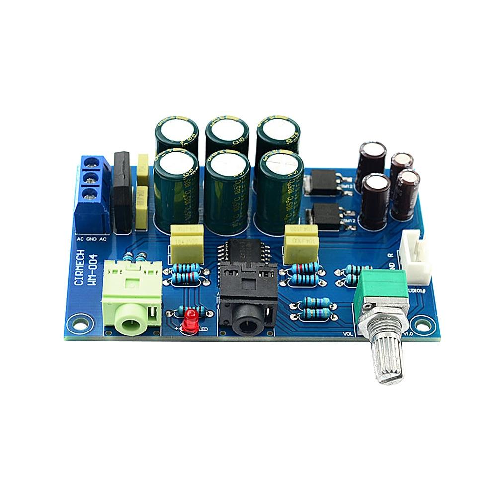 AIYIMA TPA6120 Headphone Amplifier Board HIFI TPA6120A2 Enthusiast Headphones AMP Amplificador Zero Noise Diy
