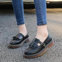 {D & H}วินเทจแฟลตรองเท้าฟอร์ดผู้หญิงฤดูใบไม้ร่วงแบน2016แฟชั่นB Rogue O Xfordรองเท้าสุภาพสตรีผู้หญิงS Apato Femininoขนาดบวก34-43