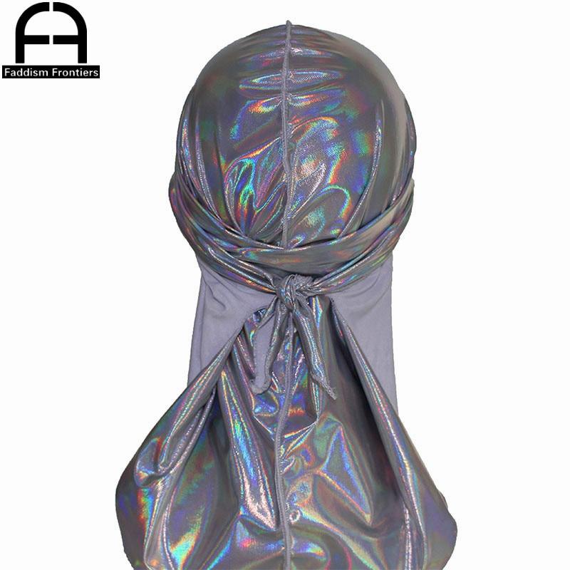 Headwear Hair-Accessories Wave-Caps Turban Pirate-Hat Durags Bandanas Colorful Doo Rag