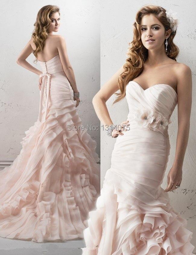 Aliexpress.com : Buy Most Popular Sweetheart Mermaid Long Train ...
