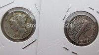 90 Silver MERCURY HEAD DIMES 1918 S Dates Nice Quality Coins Retail Whole Sale Free Shipping