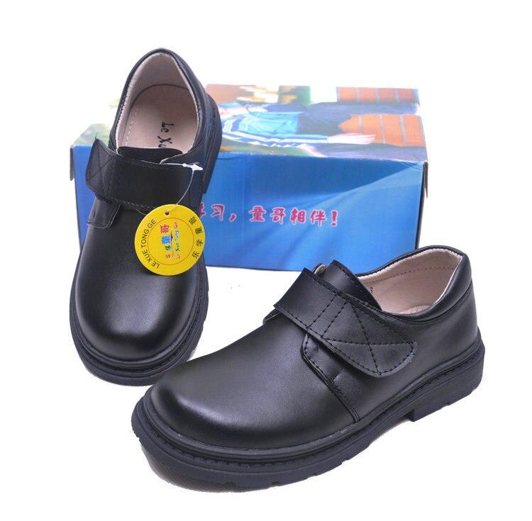 Mode jongens kinderen koe lederen schoenen student school schoenen - Kinderschoenen - Foto 3