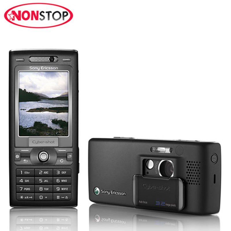 K800 Sony Ericsson K800 Original Unlocked mobile phones 3G GSM 3.15MP Camera Bluetooth FM Radio JAVA Refurbished Cell Phone(China)