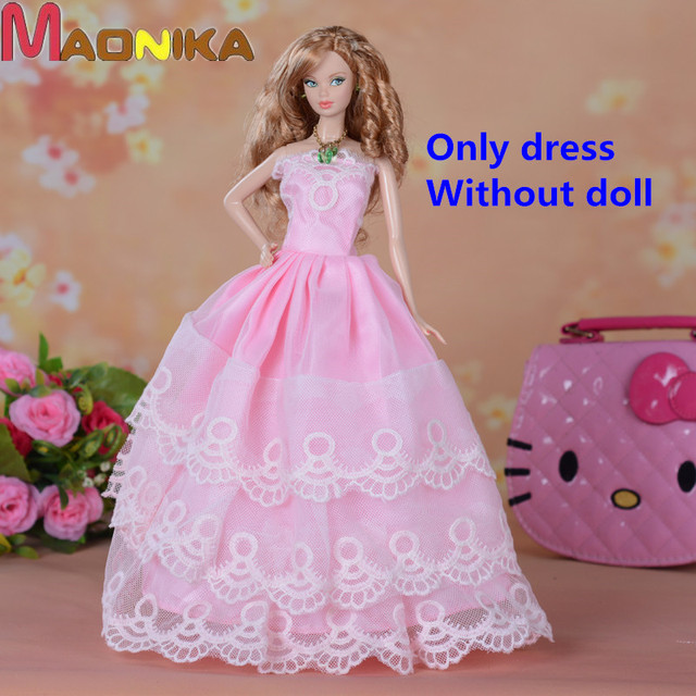 5Pcs Hot Sale Party Wedding Dress Princess Gown Dress Clothes ...