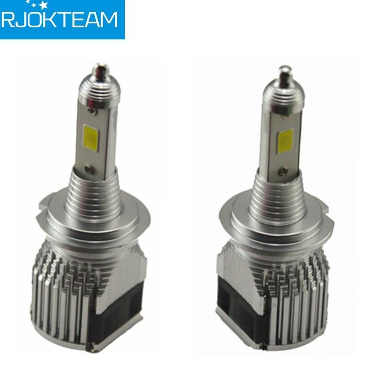 RJOKTEAM 2x H4 Car LED Headlight 60W 8000LM H1 H3 H7 H8 H9 H11 9005/HB3 9006/HB4 Car LED Head Light Lamp High Low Kit