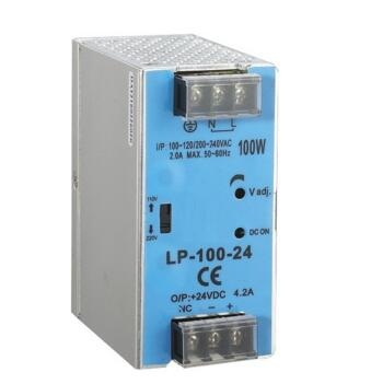 single output micro size 12v LP-100-12 8.3a 100W Din rail Single Output Switching Power Supply Ac Dc Converter SMPS universal input power supply 48v 100w din lp 100 48 switching power without the function of measuring