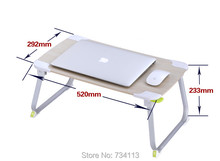 Многофункциональный складной столик сильный Алюминий портативный складной стол для ноутбука/кровать/кофе, чай/наружного использования, 52*30 см