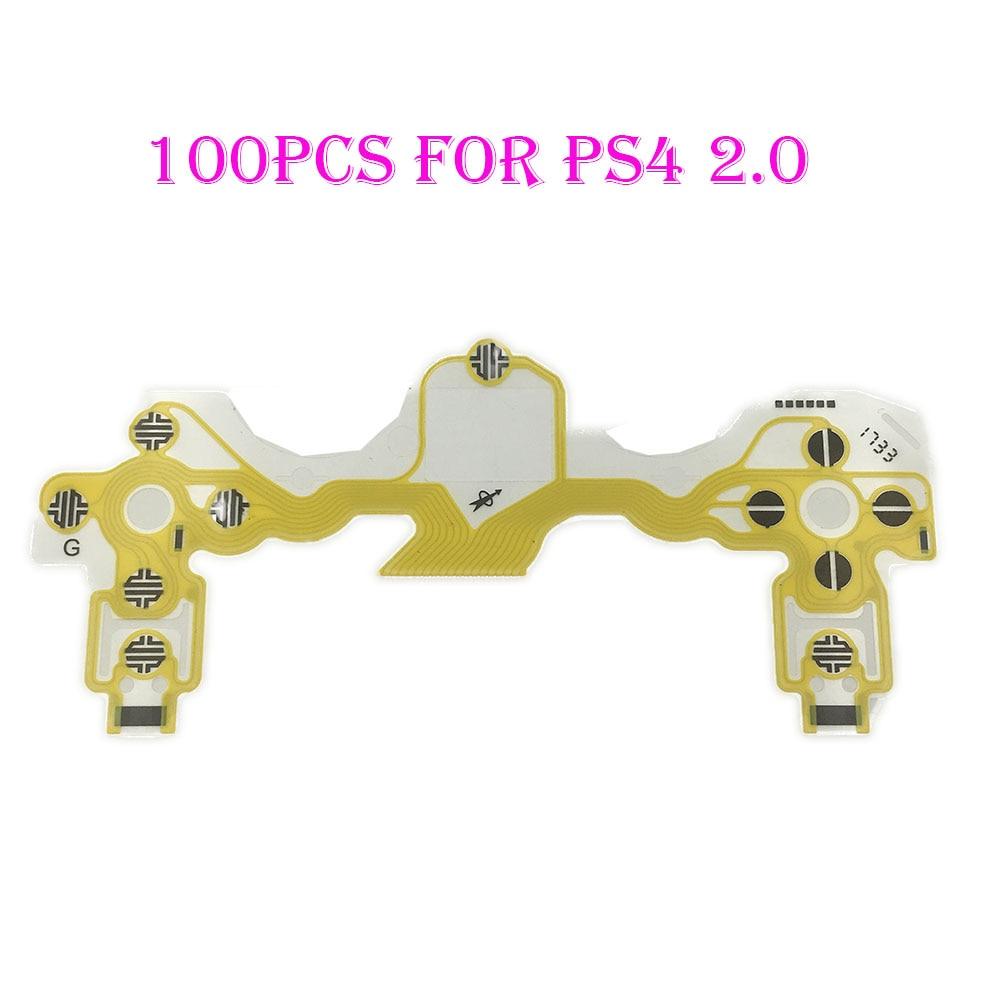 100PCS Original New Conductive Film for PS4 Controller Keypad Flex Cable PCB Circuit Ribbon Film for