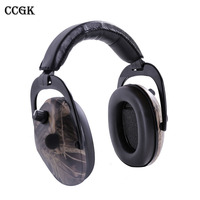CCGK Tactical Headset Intelligent Noise Reduction Soundproof Sound Pickup Headphones New Dual Switch Pickup Function Anti