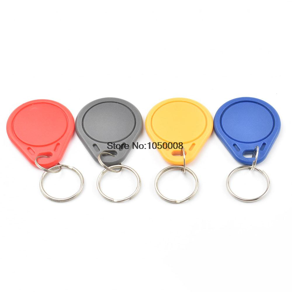 10pcs/lot UID Changeable NFC IC tag rfid keyfob token 1k S50 13.56MHz Writable ISO14443A цены