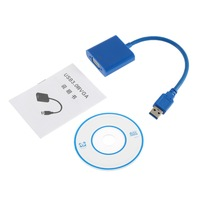 High Quality Chip New USB 3 0 To VGA Multi Display Adapter Converter External Video Graphic