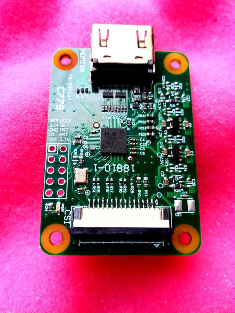 For HDMI To CSI-2 Bridge 15 Pin FFC Cable Raspberry Pi Transfer Module