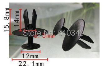 Clipe transporte vw fixadores auto plastic fastener