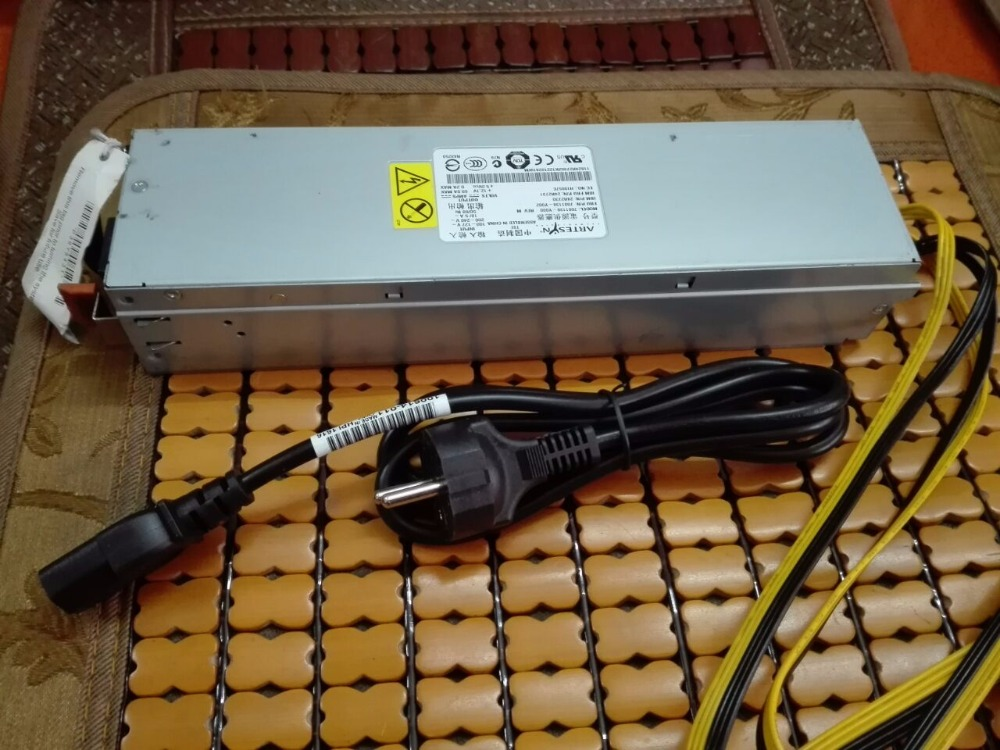 Free shipping switching power supply Output 835W 12V  4 PCS 6PIN  USE FOR ANTMINER S5 PinIdea 450M PinIdea 600M  A4 138M A900M