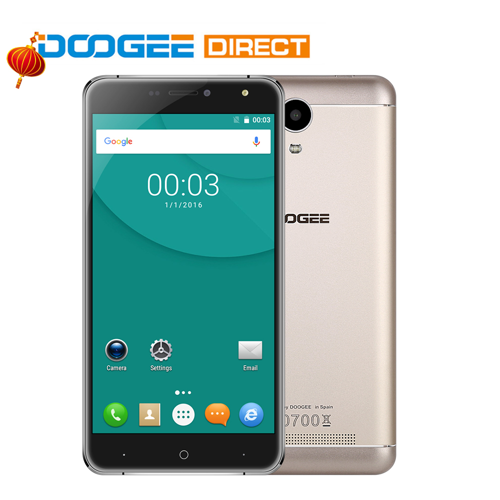 "Цена за На складе doogee x7 6.0 ""3 г смартфон android 6.0 mtk6580 quad core 1 ГБ + 16 ГБ 3700 мАч vr 13.0mp телефон"